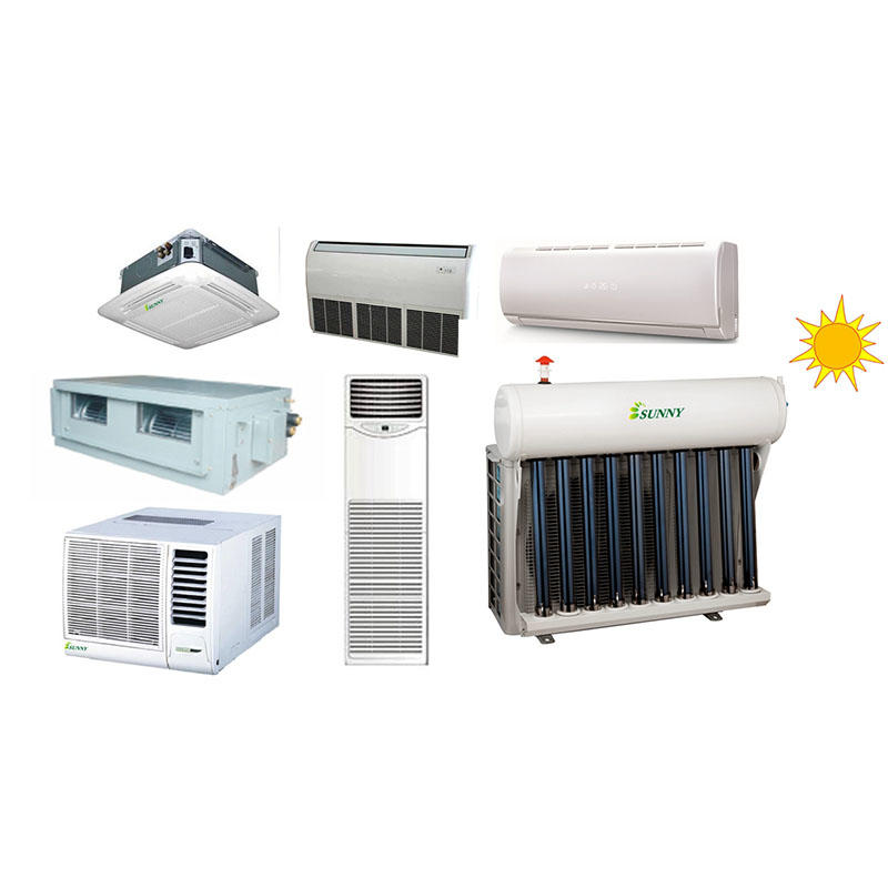 Hybrid Solar Air Conditioners work principle